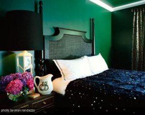 Decoración en Verde Esmeralda