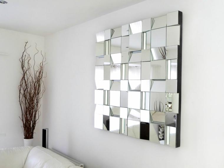 Espejos decorativos para sala y comedor decoracion de for Espejos horizontales para comedor