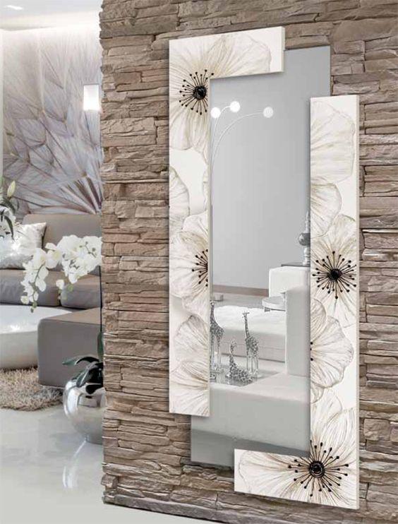 Espejos decorativos para sala y comedor como organizar for Espejos rectangulares para sala