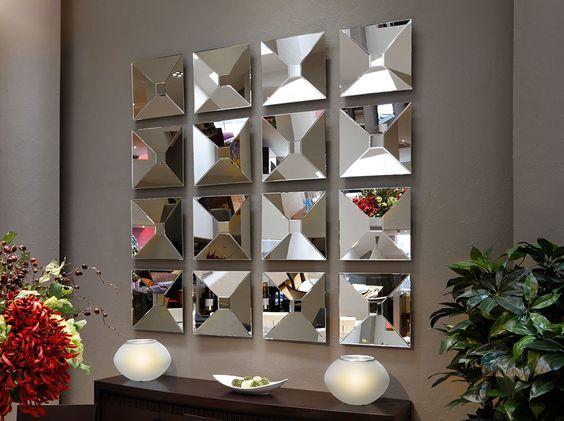 Espejos decorativos para sala y comedor decoracion de for Espejos decorativos para pasillos