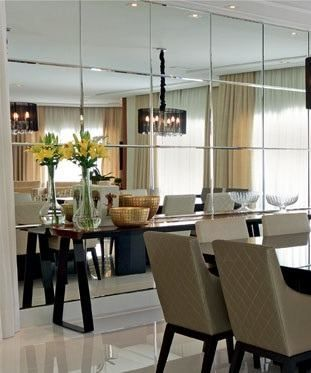 Espejos decorativos para sala y comedor ideas para for Espejos horizontales para comedor