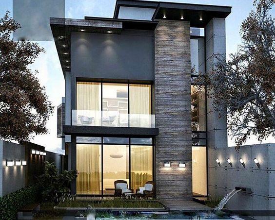 Diseños de casas con piedra tallada