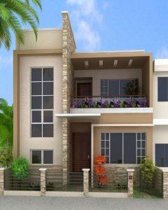 8 Hermosos Diseños de Casas con Fachada Moderna