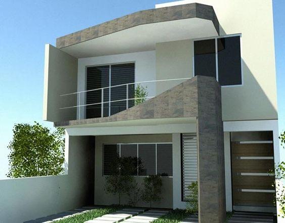 Diseño de casas modernas a desnivel