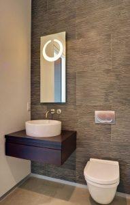 Lavabos para baños con mueble empotrado - sin patas