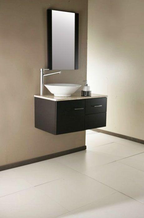 lavabos para ba os con mueble empotrado sin patas 13