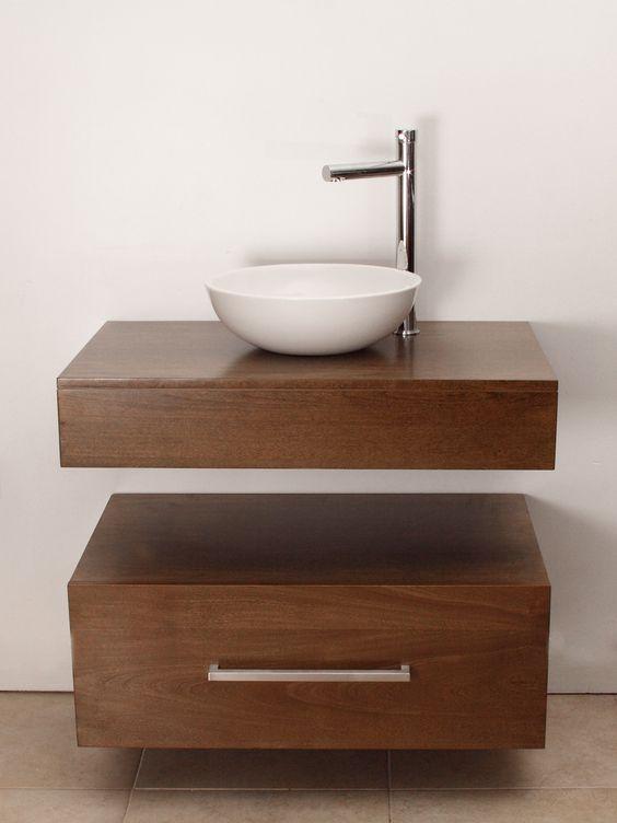 lavabos para ba os con mueble empotrado sin patas 18