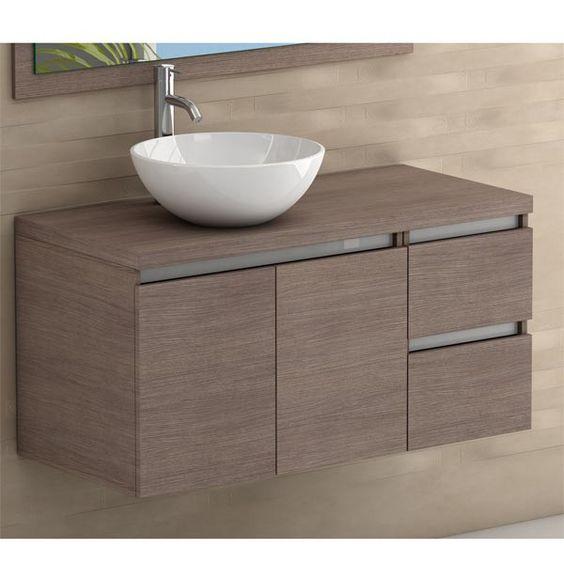 Lavabos para ba os con mueble empotrado sin patas for Muebles de bano con estilo