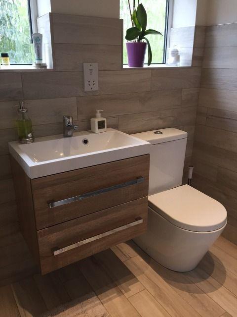 Small Cloakroom Toilet Dark
