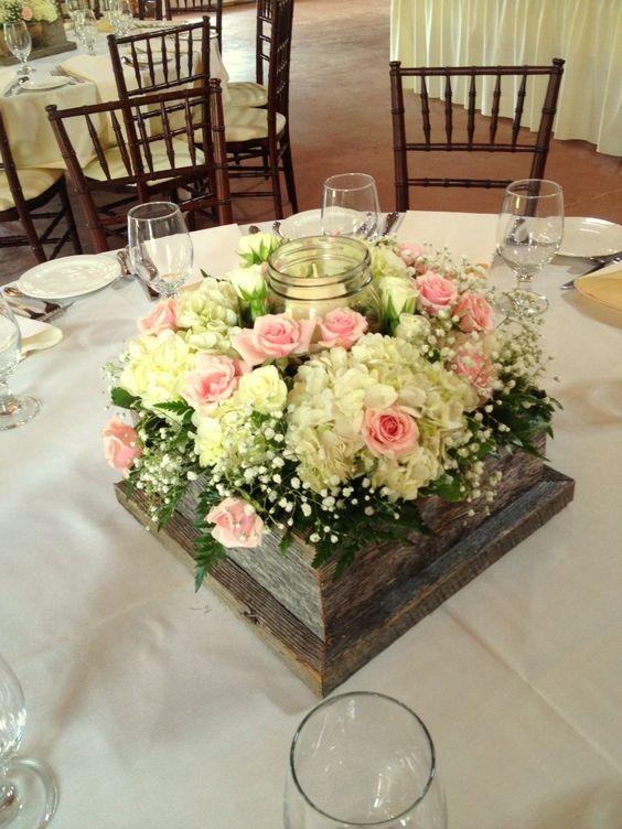 Centros mesa bodas bases madera 13 decoracion de for Bases de mesas cromadas