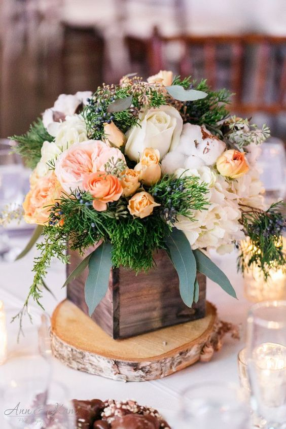 Centros mesa bodas bases madera 26 decoracion de for Bases para mesas de centro