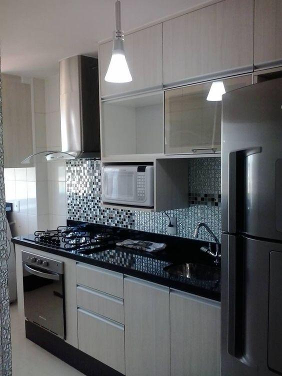 cocinas-en-linea-horizontal-para-áreas-pequeñas-11 | Decoracion de ...