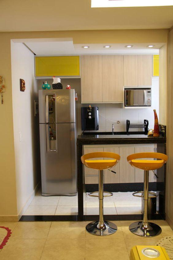 Uce una cocina hermosa y funcional a n cuando el espacio for Cocinas profesionales para el hogar