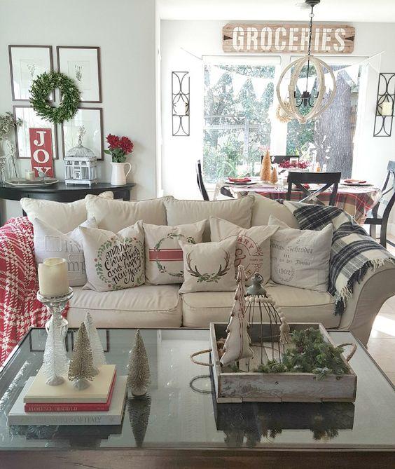 Como decorar la sala en navidad cmo decorar la sala - Como decorar un arbol de navidad moderno ...