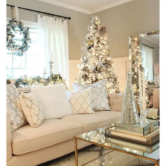 Free Home Decorating: Como-decorar-la-sala-navidad (26)