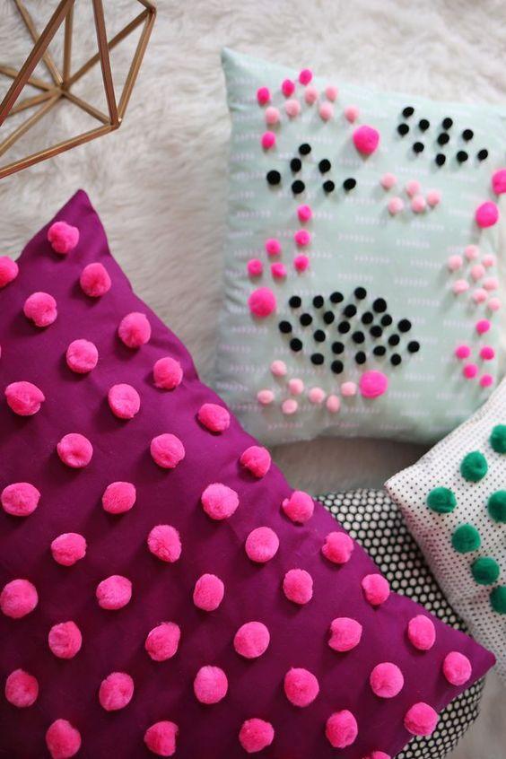 Como hacer cojines decorativos 21 - Como hacer lazos decorativos ...