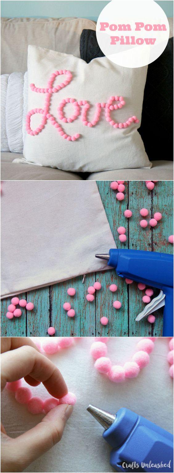Como hacer cojines decorativos 23 - Como hacer lazos decorativos ...