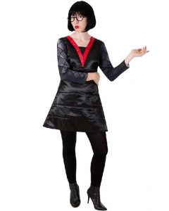 como hacer un Como hacer un disfraz de Edna Mode para halloweendisfraz de edna mode para halloween (4)