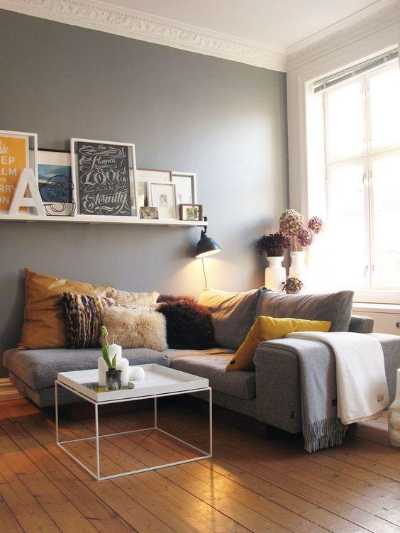decoracin de interiores color mostaza