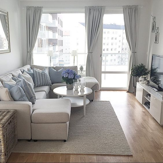 Gray color for small rooms