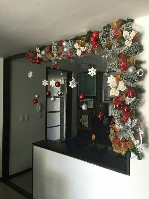 Decoracion navidena 2017 2018 23 decoracion de for Decoracion del hogar 2018