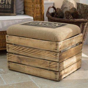 Decoración y organización con cajas de madera
