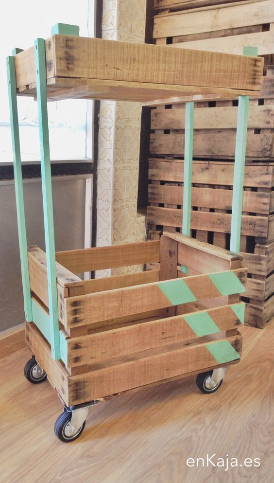 decoracin y organizacin con cajas de madera