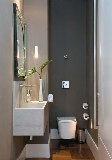 Decoracion Toilets Pequenos 21 Como Organizar La Casa