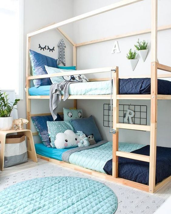 Como decorar habitaciones compartidas