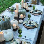 Como decorar la mesa en la cena de acción de gracias 2017