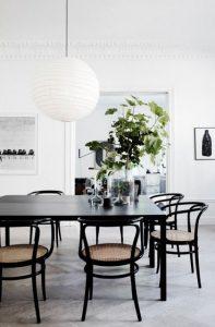 Diseños de mesas para comedores modernos