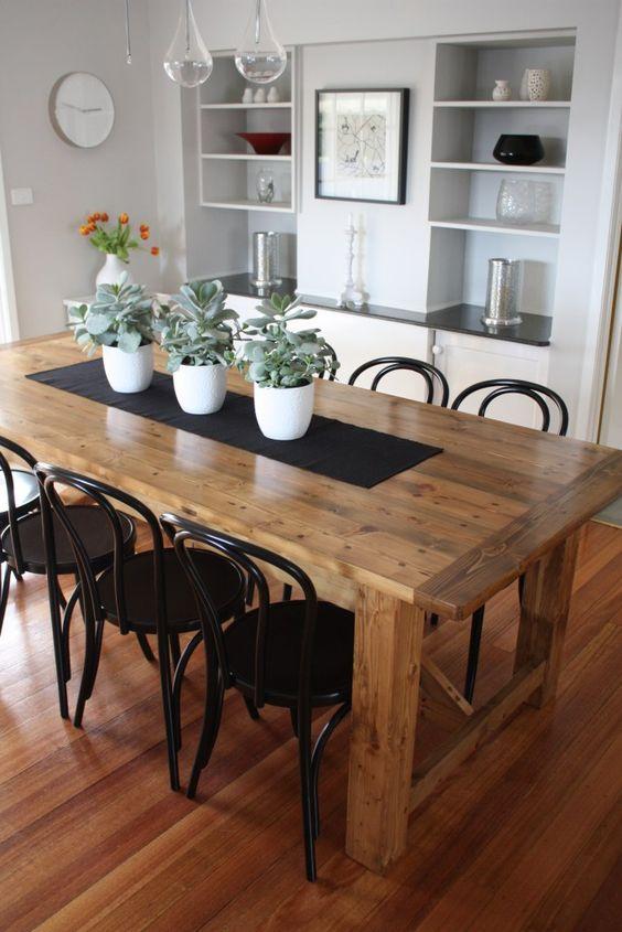 Disenos mesas comedores modernos 17 decoracion de for Comedores modernos 2017
