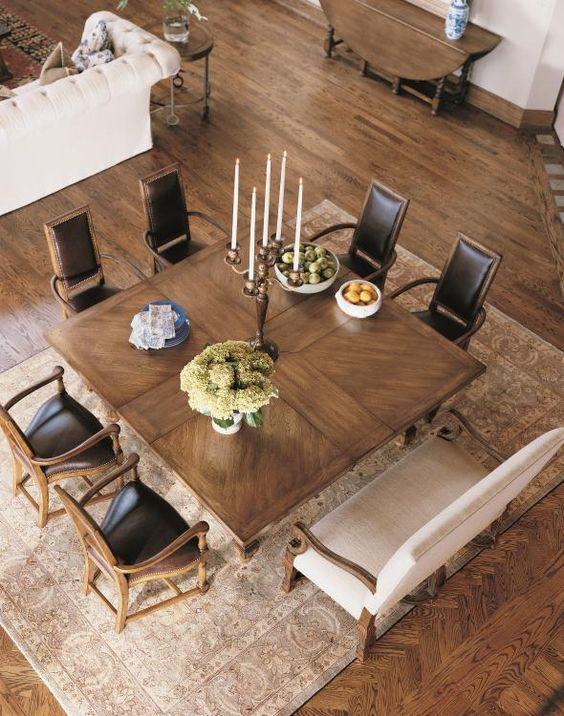 disenos-mesas-comedores-modernos (18) | Como Organizar la ...