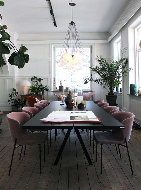disenos-mesas-comedores-modernos (20)   Como Organizar la ...