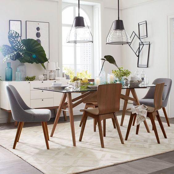 Diseños de mesas de comedor