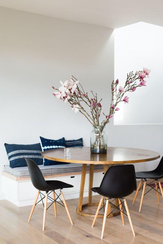 Modelos de mesas de comedor modernas