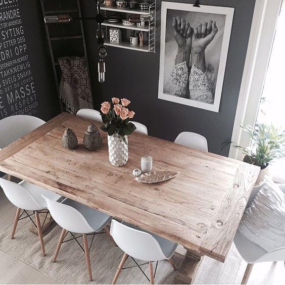 Dise os de mesas para comedores modernos a un bajo precio - Disenos de comedores de madera ...