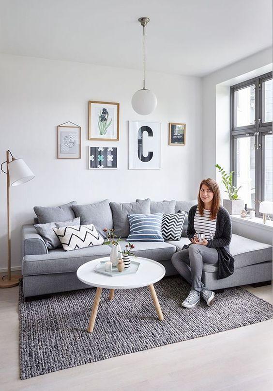Dise os modernos de salas esquineras for Diseno de apartamento de una habitacion