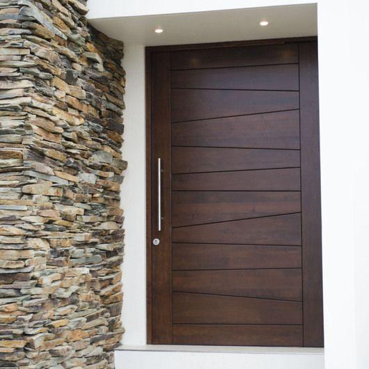 Disenos puertas frente casa 20 como organizar la casa for Modelos de puerta de madera para casa