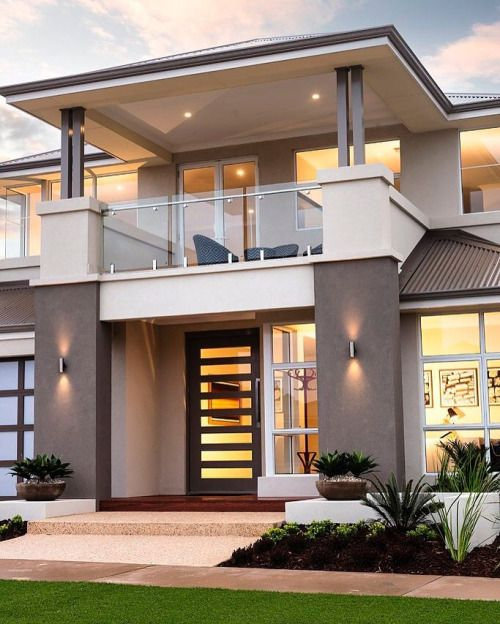Home Design Exterior Ideas In India: Disenos-puertas-frente-casa (25)