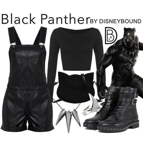 Disfraz de la pantera negra para halloween