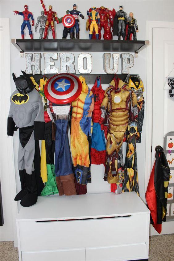 Habitacion Infantil Decorada Tema Super Heroes 4 Como
