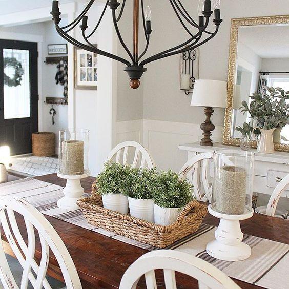 ideas-decorar-comedor-plantas (17) | Como Organizar la Casa ...