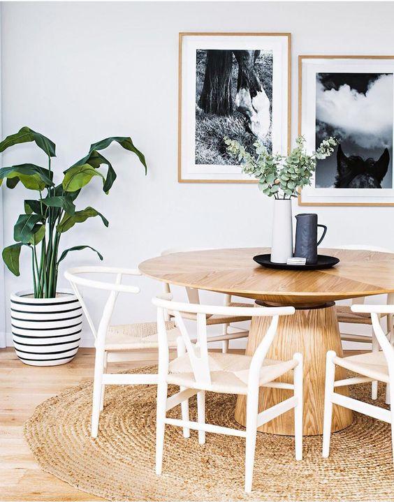 Ideas para decorar un comedor con plantas - Como decorar un comedor minimalista ...