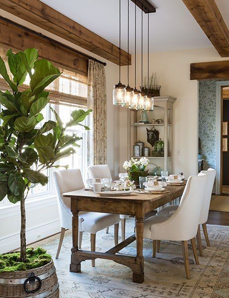 ideas-decorar-comedor-plantas (9) - Decoracion de interiores ...