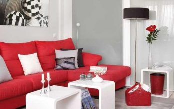 Ideas para decorar el interior de tu casa con color rojo