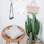 Ideas para decorar interiores con cactus
