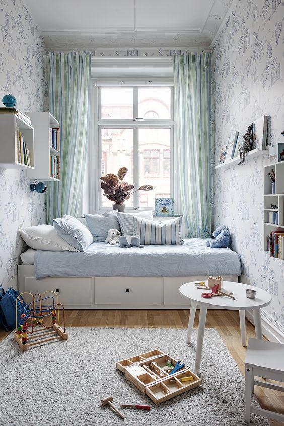 Ideas decorar una habitacion infantil pequena 16 decoracion de interiores fachadas para - Decoracion habitacion infantil pequena ...