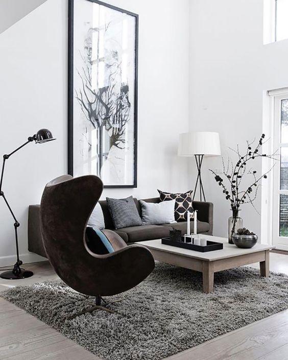 Ideas modernas decorar una sala estar 10 decoracion de for Ideas para decorar salas modernas