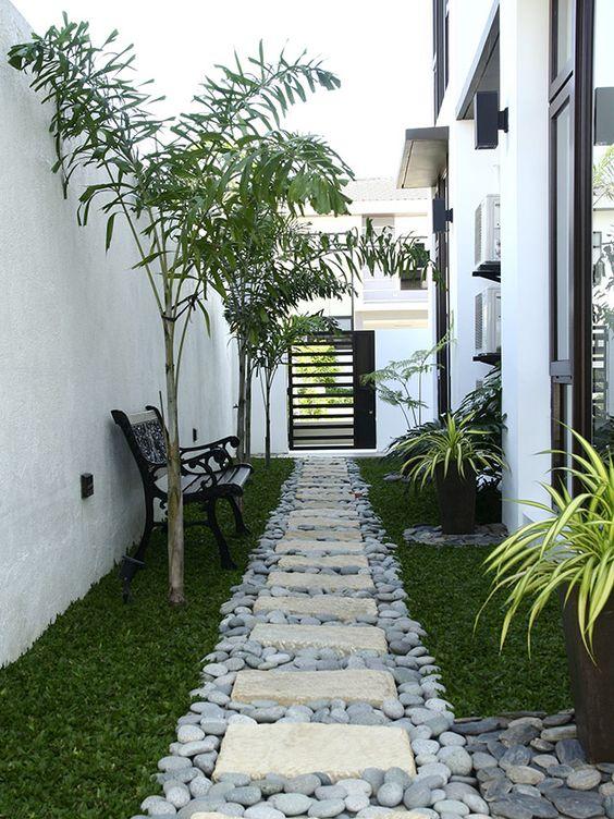 Pasillos exteriores decorados 17 decoracion de - Decoracion de exteriores de casas ...